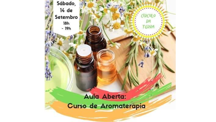 Aula Aberta: Curso de Aromaterapia