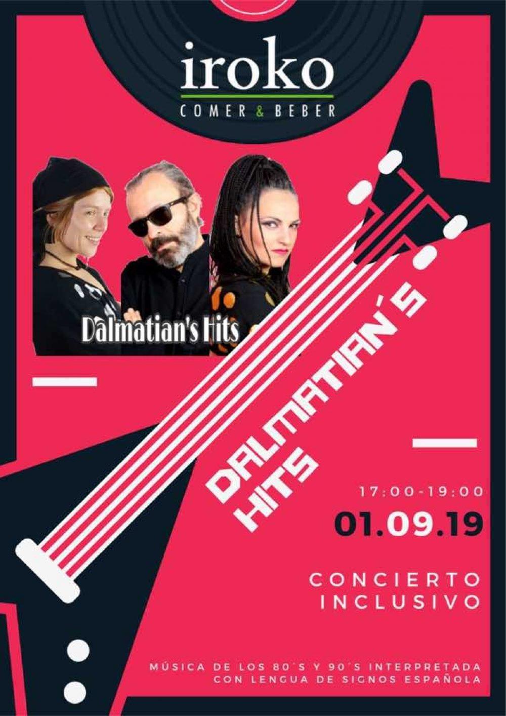 Concierto Dalmatian´s hits