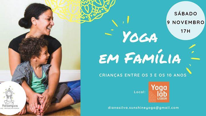 Yoga em Família | Marquês de Pombal