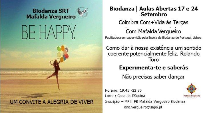 Biodanza, terças, Coimbra Com+Vida