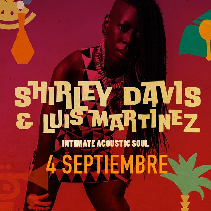Shirley Davis & Luis Martínez / 4 Septiembre 2019 / Cáceres
