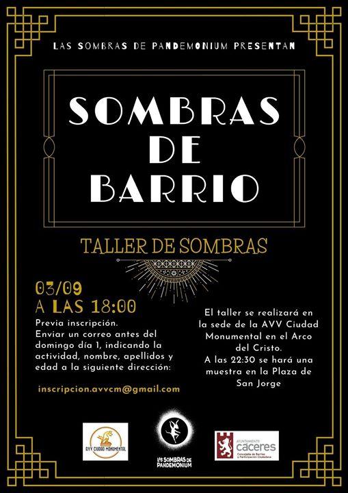 Taller 'Sombras de Barrio'