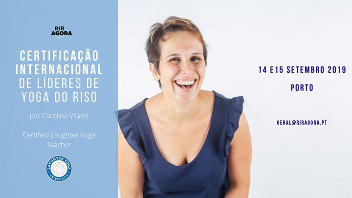 Certificação Internacional de Líderes de Yoga do Riso