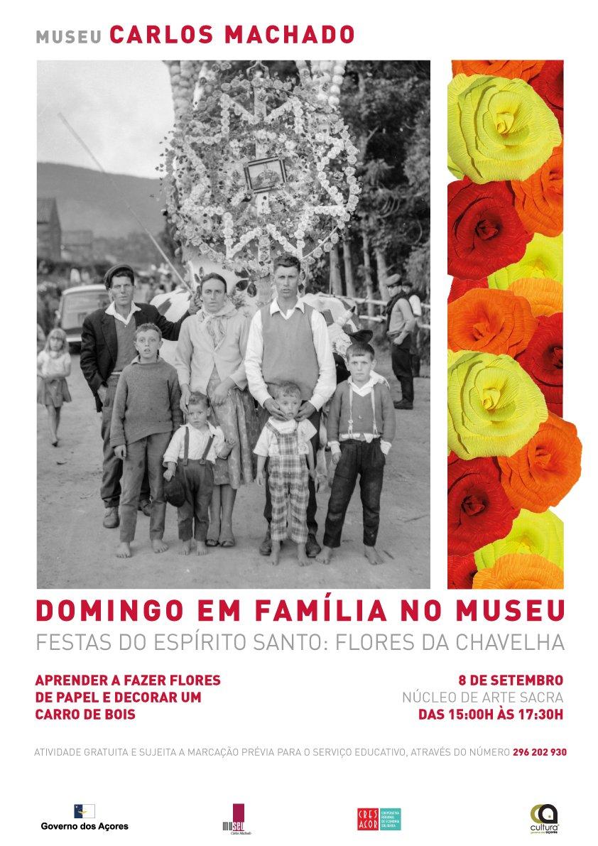 Domingo em Família no Museu: Flores da chavelha