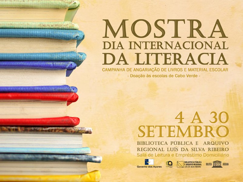 Mostra | Dia Internacional da Literacia