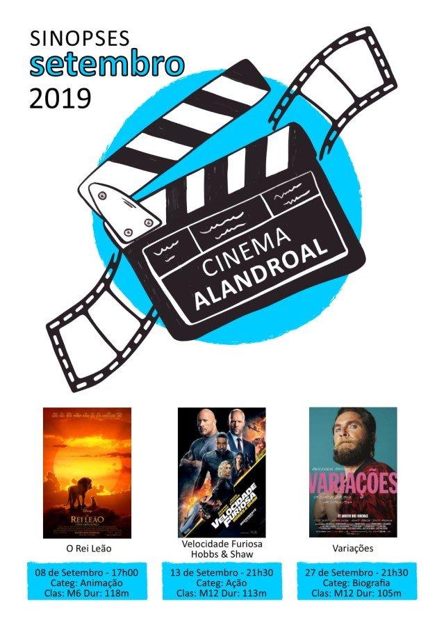 Cinema Alandroal - setembro
