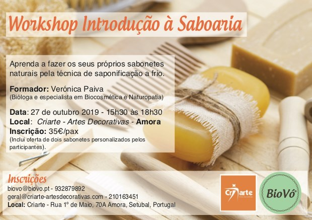 Workshop Introdução à Saboaria