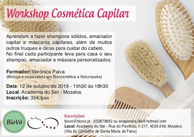 Workshop Cosmética Capilar