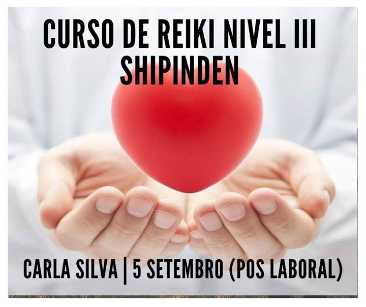 Curso de Reiki Nivel III Shipinden - 4 meses (pós laboral)