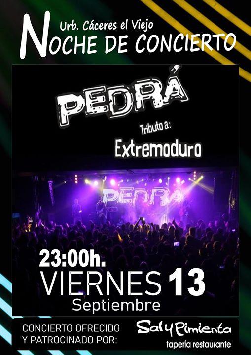 Concierto PEDRÁ (Extremoduro)