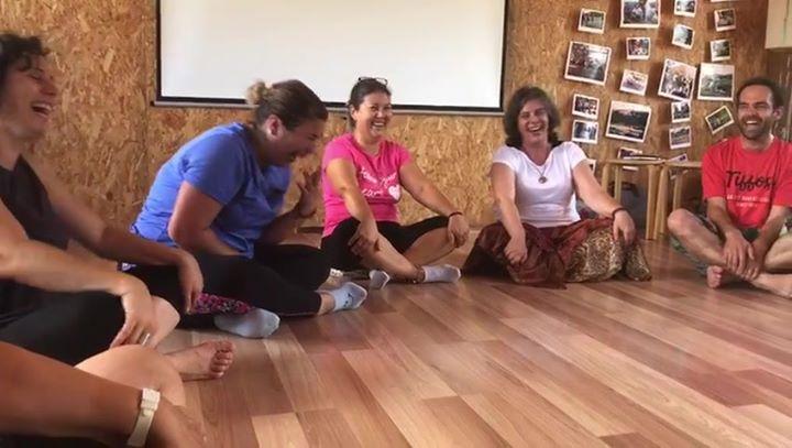 Curso Yoga do Riso - Lisboa