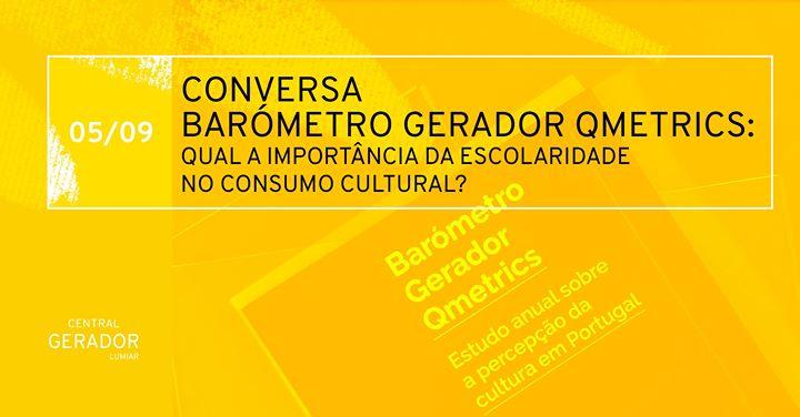 Conversa: Importância da escolaridade no consumo cultural
