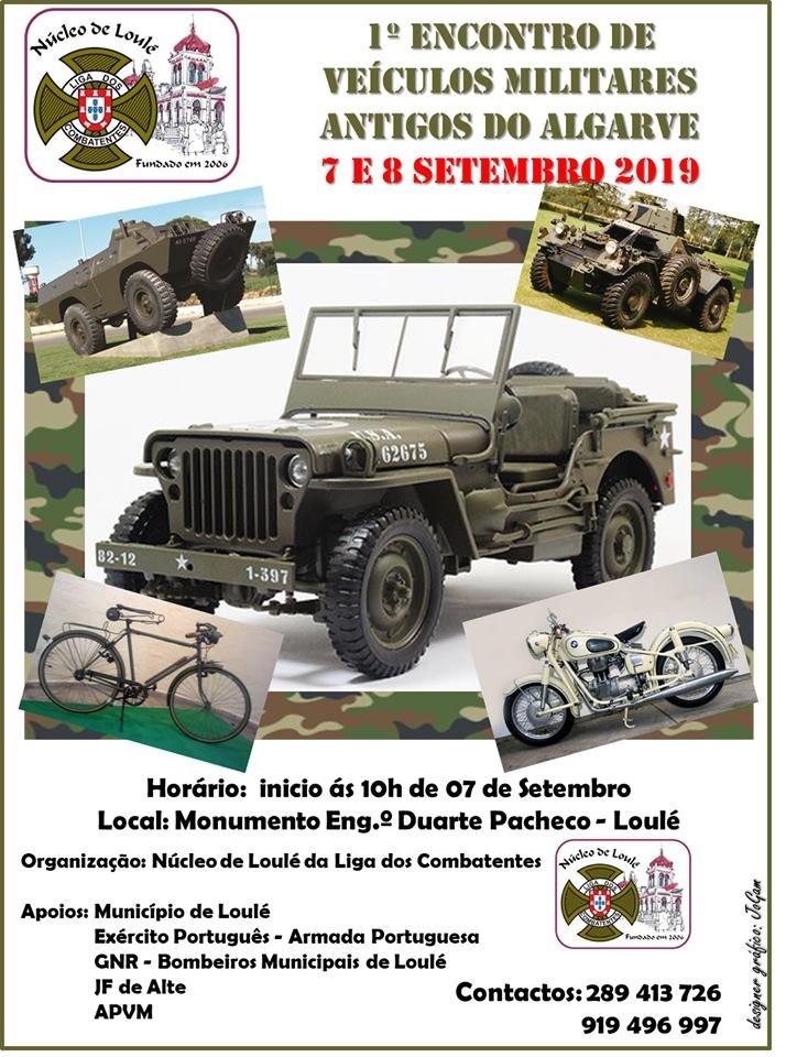 1º Encontro de Veículos Militares Antigos do Algarve