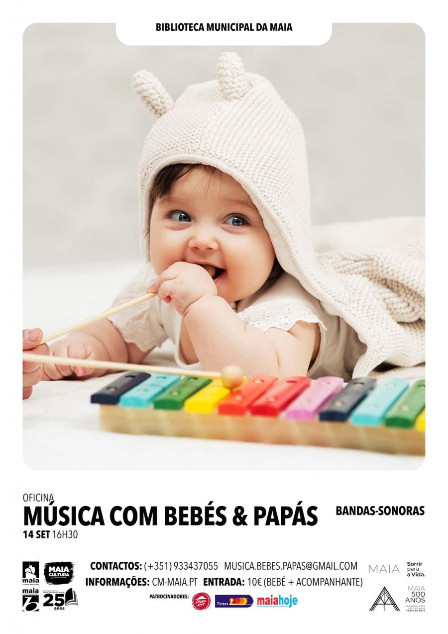Música com bebés e papás