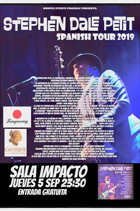 STEPHEN DALE PETIT Spain tour 2019