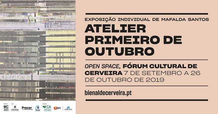 """Inauguração exposição """"Atelier Primeiro Outubro"""" Mafalda Santos"""