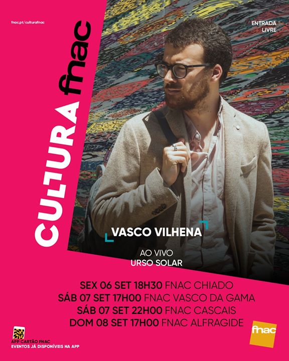 Vasco Vilhena - mini tour FNAC