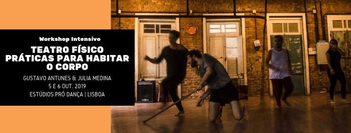 Workshop Teatro Físico | Práticas para Habitar o Corpo