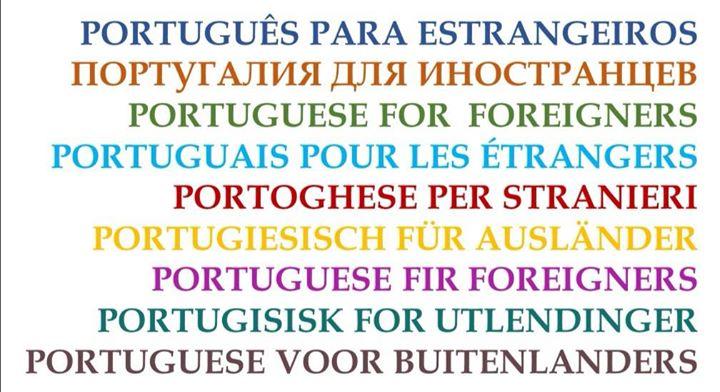 Português para estrangeiros - aulas todas as quartas e quintas
