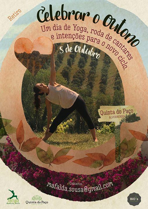 Celebrar o Outono, um dia de Yoga, roda de cantares e intenções