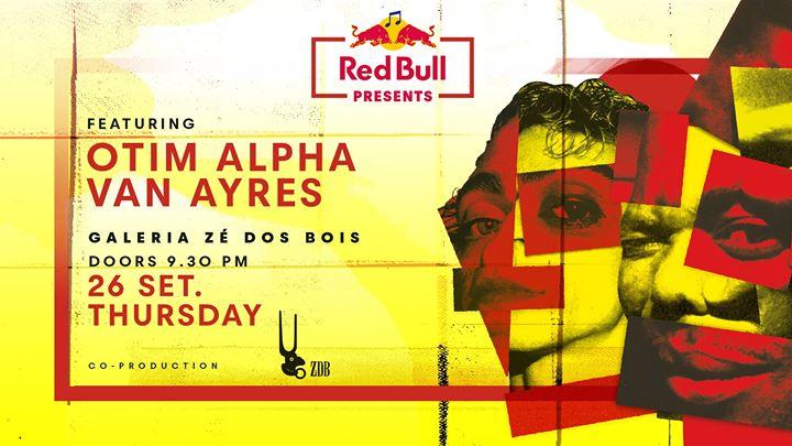 Red Bull apresenta Otim Alpha e Van Ayres l ZDB