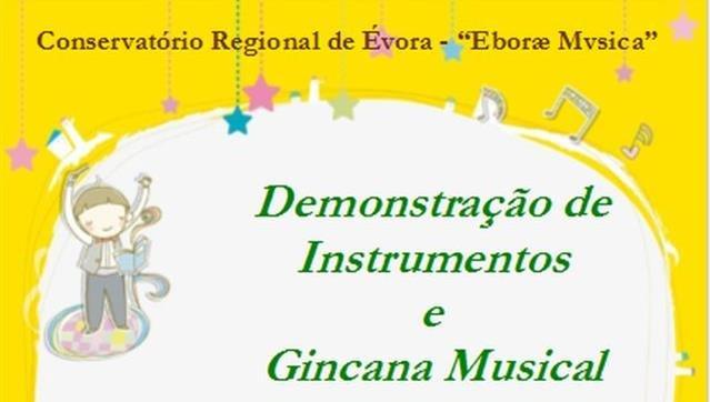Gincana Musical e demonstração de Instrumentos