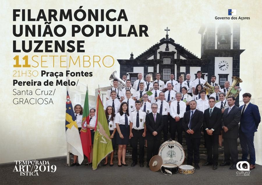 Filarmónica União Popular Luzense | Temporada Artística 2019