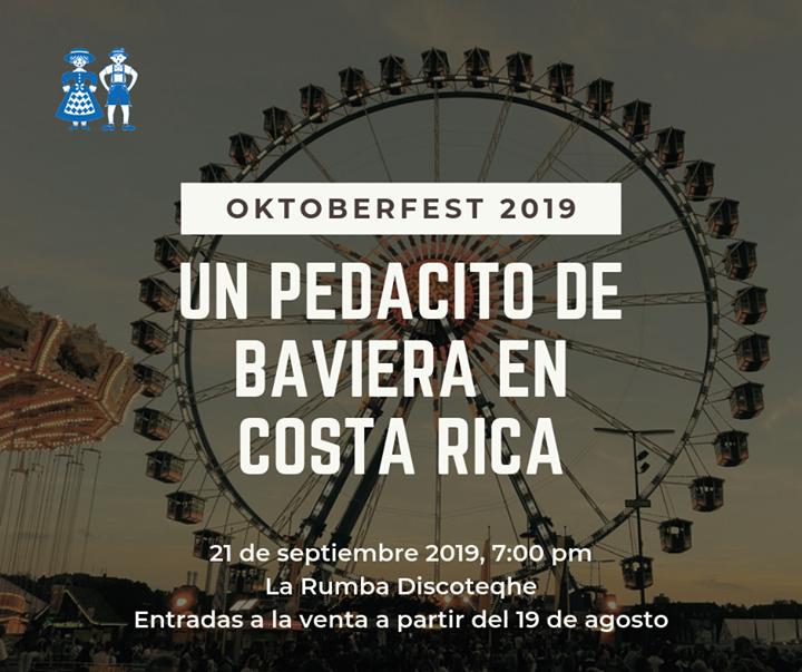Oktoberfest Costa Rica 2019