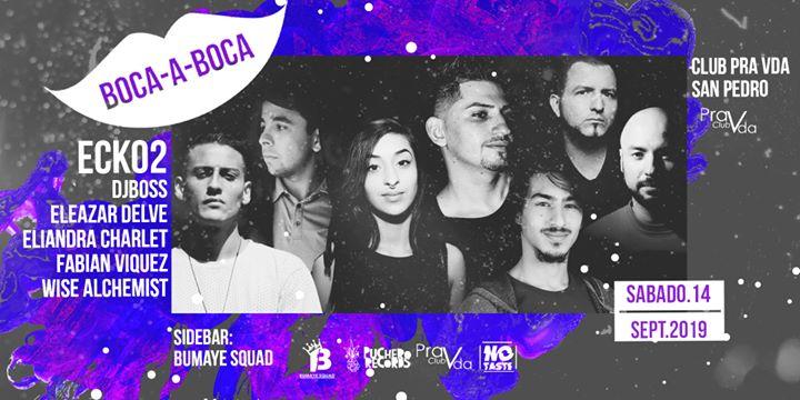 Boca A Boca! Sábado 14 Sept, Club Pra Vda San Pedro