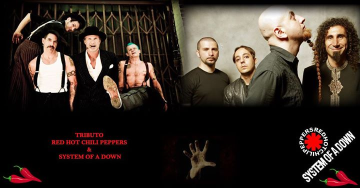 Tributo Red Hot Chili Peppers & System of a Down