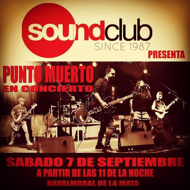 Directos SoundClub :Concierto Punto Muerto. Rock
