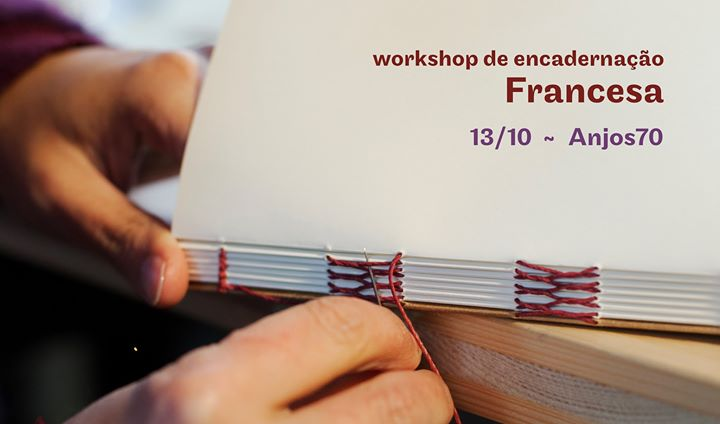 Workshop de Encadernação - Costura Francesa