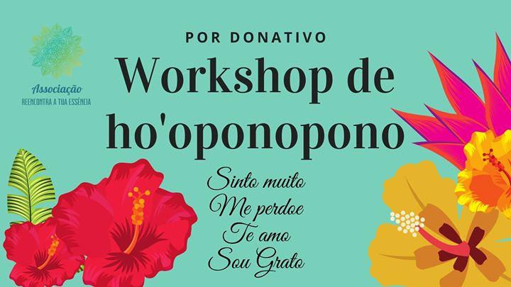 Por donativo - Workshop de Hoponopono