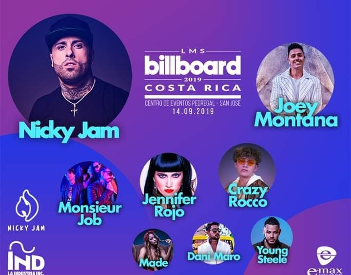 Billboard Latin Music Showcase En Costa Rica