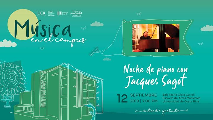 Noche de piano con Jacques Sagot