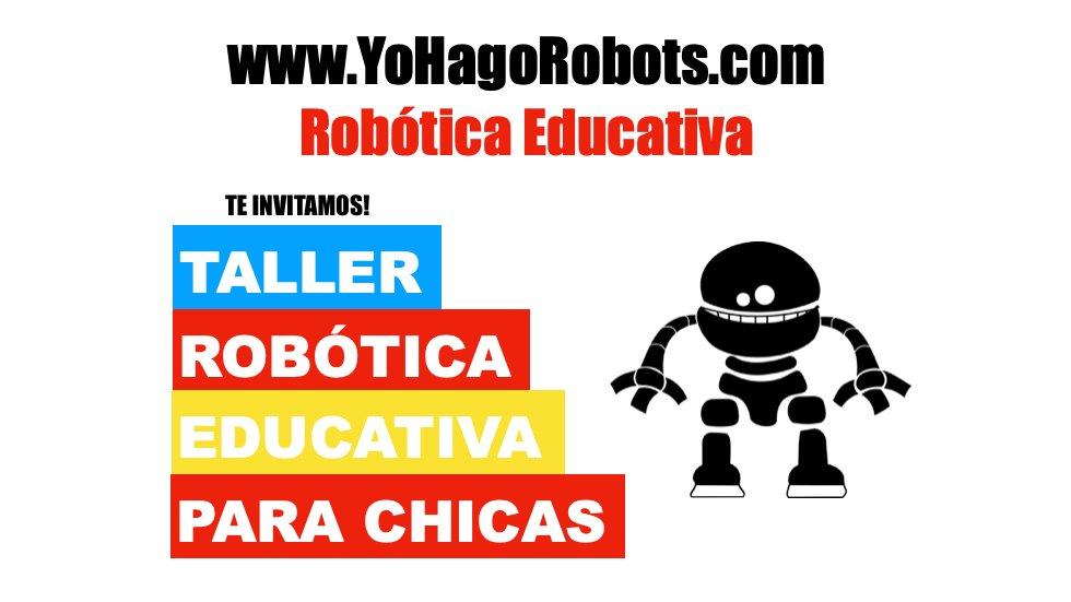 Taller Robótica Educativa para Chicas
