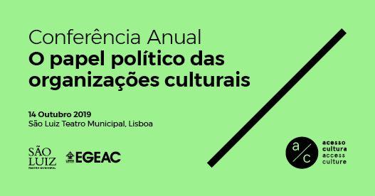 O papel político das organizações culturais