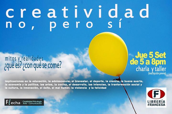 Creatividad, no, pero sí