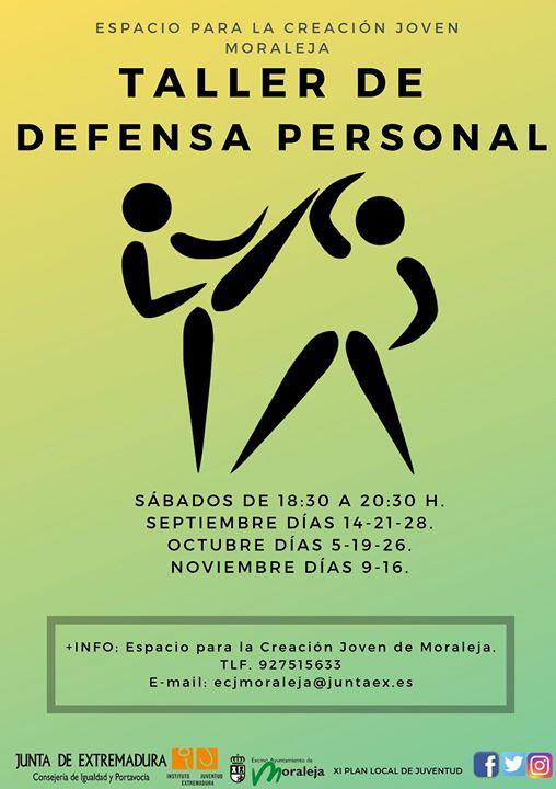 Taller de Defensa Personal , gratuito