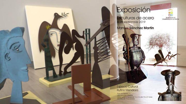 """Exposición """"Esculturas de Acero"""""""