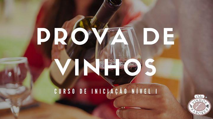 Curso de Iniciação à Prova de Vinhos Nível I