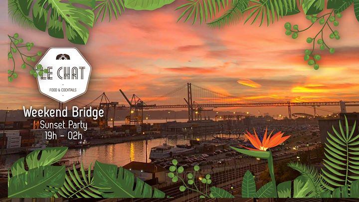 Weekend Bridge   Sunset Party