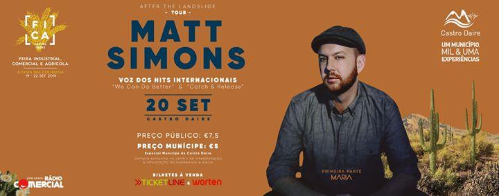 Matt Simons em Castro Daire (20 set. 2019)