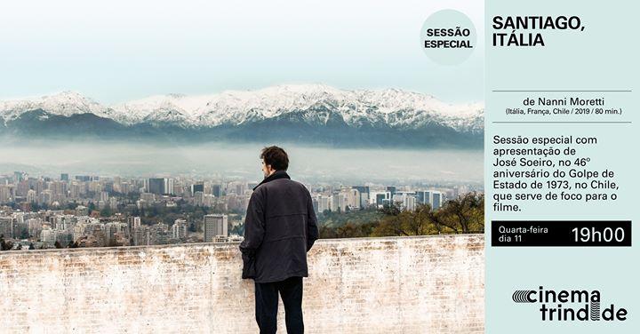 Santiago, Itália - Sessão Especial com José Soeiro
