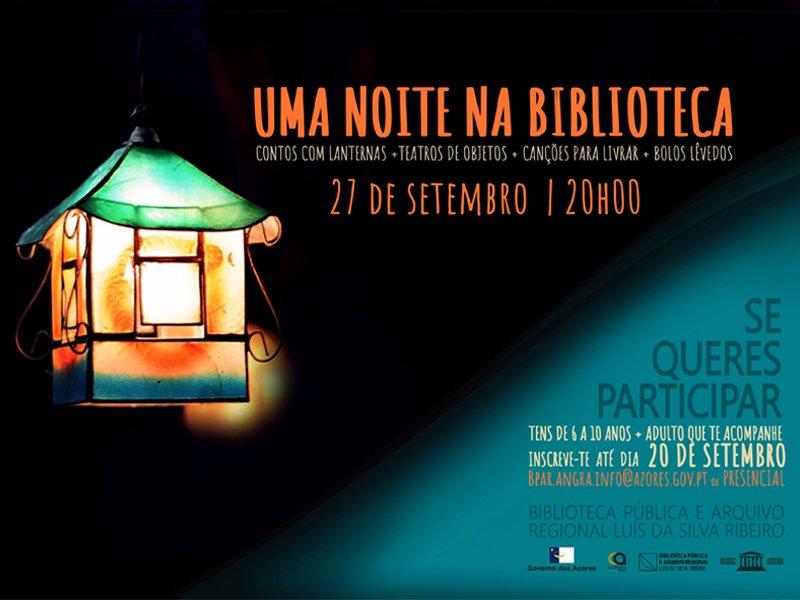 Uma Noite na Biblioteca