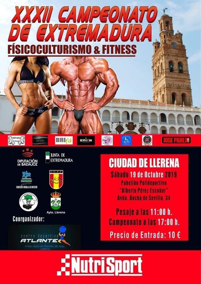 XXXII Campeonato de Extremadura de Físicoculturismo y Fitness