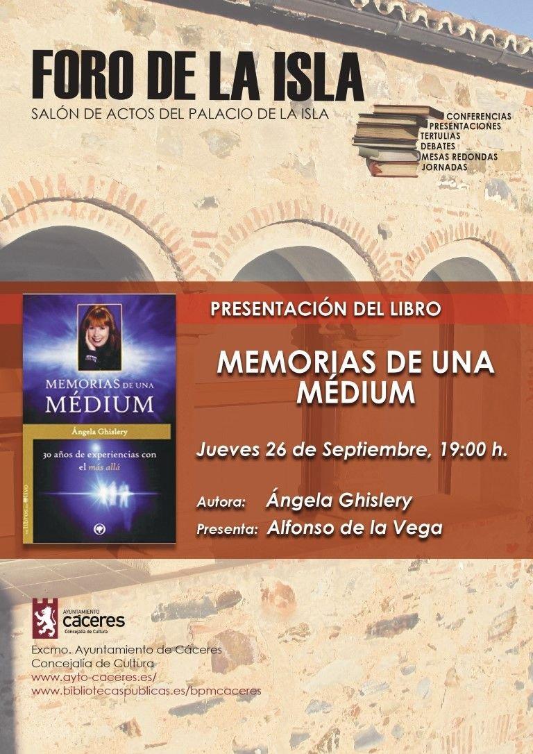 Presentación del Libro: Memorias de una Médium