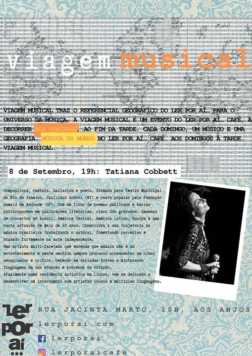 Viagem Musical - Tatiana Cobbett
