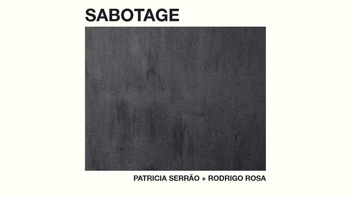 Inauguração da exposição 'Sabotage'
