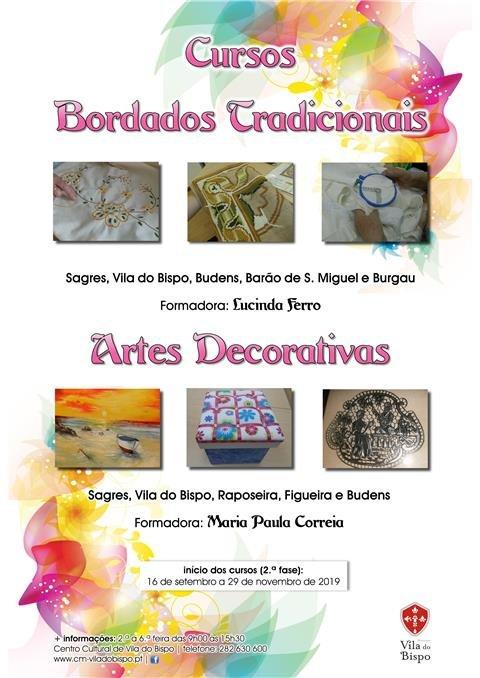 Cursos - Bordados Tradicionais e Artes Decorativas